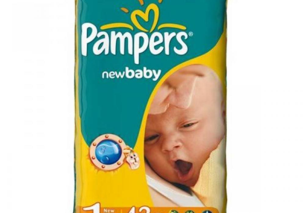 49dcb282833c Морковка38.ру - 1 Pampers New Baby dry 2-5 кг. 43 шт. за 485р