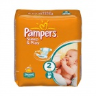 2 Pampers Mini Sleep&Play (4-8 кг.) 18 шт.